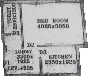 Nandy Avisha Apartment (1BHK+1T (450 sq ft) 450 sq ft)