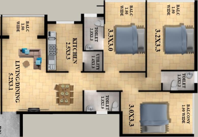 Alcon Sereno in Margao, Goa - Price, Location Map, Floor